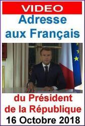 blog adresse aux Français