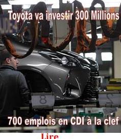 Toyota va investir